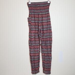 *Rare!*VINTAGE Thai high waisted boho harem pants